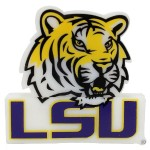 USDI LSU TIGERS LOGO SHAPE USB DRV 8GB