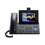 Cisco Unified IP Phone 9971 Standard - IP video phone - IEEE 802.11b/g/a (Wi-Fi) - SIP, RTCP, SRTP - multiline - charcoal gray CP-9971-C-K9++=