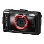 Olympus Stylus Tough TG-2 iHS - Digital camera - compact - 12.0 MP - 4 x optical zoom - underwater up to 45 ft - black V104120BU030