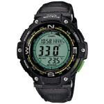 Twin Sensor Digital Watch - Bluegreen Light