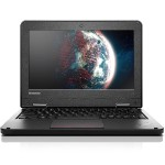 "ThinkPad 11e 2nd Gen 20E6 Intel Core M-5Y10c Dual-Core 800MHz Laptop - 8GB RAM, 320GB HDD, 11.6"" HD LED, Gigabit Ethernet, Bluetooth, Webcam, 4-cell 35Wh Li-Polymer, Graphite Black"