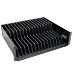 3U Rack Mount Configurable Storage Shelf for Devices