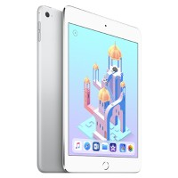 "Apple iPad Mini 4 Wi-Fi - Tablet - 128 GB - 7.9"" IPS (2048 x 1536) - Silver MK9P2LL/A"