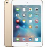 iPad mini 4 Wi-Fi + Cellular 16GB - Gold with Engraving
