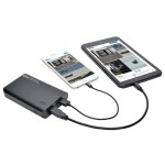 Portable 2-Port USB Battery Charger Mobile Power Bank 10k mAh