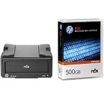 RDX+ 500GB External Disk Backup System
