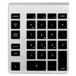 Wireless Aluminum Keypad - Black