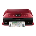Canon PIXMA MG7720 - Multifunction printer - color - ink-jet - 8.5 in x 11.7 in (original) - Legal (media) - up to 15 ipm (printing) - 125 sheets - USB 2.0, LAN, Wi-Fi(n), NFC with  InstantExchange 0596C042