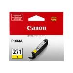 CLI-271Y - Yellow - original - ink tank - for PIXMA MG5720, MG5721, MG5722, MG6821, MG6822, MG7720, TS5020, TS6020, TS8020, TS9020