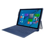 feather [HYBRID] Rugged Case with Shock Absorbing Frame for Microsoft Surface 3 - Navy