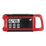 ER210 E+READY Compact Emergency Crank Wx Radio - Weather alert radio
