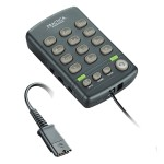 T110H - Dialpad telephone base with Quick Disconnect connector (headset not included)