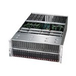 "Supermicro SuperServer 4028GR-TRT - Server - rack-mountable - 4U - 2-way - RAM 0 MB - SATA - hot-swap 2.5"" - no HDD - AST2400 - GigE, 10 GigE - no OS - monitor: none"