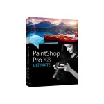 Corel PaintShop Pro X8 Ultimate - Box pack - 1 user ( mini-box ) - Win - English PSPX8ULENMBAM