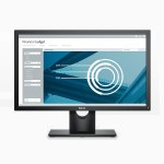 "E2216H 22"" LED Monitor - Black"