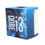 Intel Core i3 6100 - 3.7 GHz - 2 cores - 4 threads - 3 MB cache - LGA1151 Socket - Box BX80662I36100