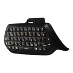 Microsoft Xbox Chatpad - Keyboard - English - North American layout - black - for Xbox One 5F7-00001