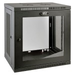 12U Wall Mount Rack Enclosure Cabinet Wallmount with Clear Acrylic Window 200lb Capacity