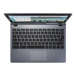"Chromebook C720P-2625 - Celeron 2955U / 1.4 GHz - Chrome OS - 4 GB RAM - 16 GB SSD - 11.6"" touchscreen 1366 x 768 ( HD ) - Intel HD Graphics - granite gray - with Gripcase Asset Armor"