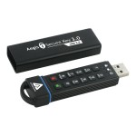 Aegis Secure Key 3.0 - USB flash drive - encrypted - 8 GB - USB 3.0 - FIPS 140-2 Level 3