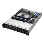 "RS520-E8-RS12-E V2 - Server - rack-mountable - 2U - 2-way - RAM 0 MB - SATA - hot-swap 2.5"", 3.5"" - no HDD - AST2400 - GigE - no OS - monitor: none"