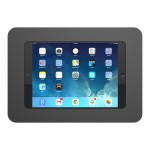 "Universal Secure Enclosure ""Rokku"" (Premium Line) Wall Mount Black - Wall mount for tablet - black - for Apple 9.7-inch iPad Pro; iPad Air; iPad Air 2; Samsung Galaxy Tab A, Tab S2 (9.7 in)"