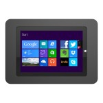 """Surface Secure Enclosure """"Rokku"""" (Premium Line) Wall Mount Black - Enclosure for tablet - lockable - high-grade aluminum - black - mounting interface: 100 x 100 mm - wall-mountable - for Microsoft Surface 3"""
