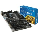 MSI B150 PC MATE ATX Motherboard B150 PC MATE