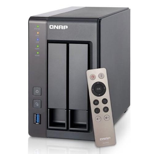 TS 251 NAS server 2 bays SATA 6Gb s RAID 0 1 JBOD Gigabit Ethernet iSCSI
