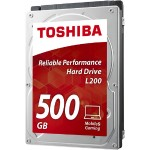 "L200 - Hard drive - 500 GB - internal - 2.5"" - SATA 3Gb/s - 5400 rpm - buffer: 8 MB"