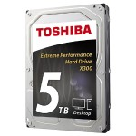 "X300 - Hard drive - 5 TB - internal - 3.5"" - SATA 6Gb/s - 7200 rpm - buffer: 128 MB"