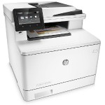LaserJet Pro MFP M477fnw - Multifunction printer - color - laser - Legal (8.5 in x 14 in) (original) - A4/Legal (media) - up to 28 ppm (copying) - up to 28 ppm (printing) - 300 sheets - USB 2.0, Gigabit LAN, Wi-Fi(n), USB host