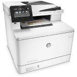 LaserJet Pro MFP M477fdn - Multifunction printer - color - laser - Legal (8.5 in x 14 in) (original) - A4/Legal (media) - up to 28 ppm (copying) - up to 28 ppm (printing) - 300 sheets - USB 2.0, Gigabit LAN, USB host