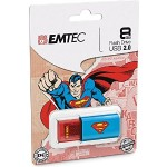 C600 Click 8 GB USB 2.0 Flash Drive - Superman