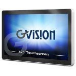 "I42 - 42"" Class - I-Series LED display - digital signage - with touchscreen - 1080p (Full HD) 1920 x 1080"