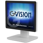 "D Series D19ZH - LED monitor - 19"" - touchscreen - 1280 x 1024 - 250 cd/m² - 1000:1 - 5 ms - VGA"