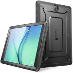 Galaxy Tab A 8.0 inch Unicorn Beetle Pro Rugged Case with Built-in Screen Protector - Black