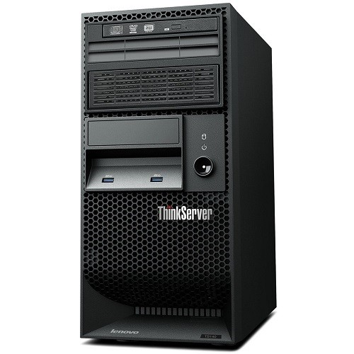 Lenovo   TopSeller ThinkServer TS140 70A4 Intel Core i3-4150 Dual-Core 3.50GHz Tower Server - 4GB RAM, no HDD, DVD±RW, Gigabit Ethernet