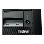 Lenovo ThinkServer TS140 70A4 - Server - tower - LGA1150 Socket - Intel C226 - 4U - 1-way - 1 x Xeon E3-1226V3 / 3.3 GHz - RAM 4 GB - no HDD - DVD-Writer - DVD-Writer - HD Graphics P4600 - 10Mb LAN, 100Mb LAN, GigE - no OS - monitor: none - TopSeller 70A4003AUX