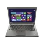 """ThinkPad T450 20BV - Ultrabook - Core i7 5600U / 2.6 GHz - Win 10 Pro 64-bit - 16 GB RAM - 512 GB SSD - 14"""" IPS 1920 x 1080 ( Full HD ) - HD Graphics 5500 - 802.11ac - WWAN upgradable - graphite black"""