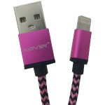 Professional Cable Lightning to USB Cable, 6ft (Pink) LIGHTPK-06