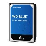 Blue 6TB Desktop Hard Disk Drive - 5400 RPM SATA 6 Gb/s 64MB Cache 3.5 Inch