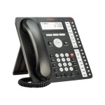 1416 Digital Deskphone - Digital phone - black ( pack of 4 )