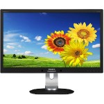 "Brilliance 231P4QUPEB - LED monitor - 23"" - 1920 x 1080 Full HD - IPS - 250 cd/m² - 1000:1 - 7 ms - VGA - speakers - textured black"