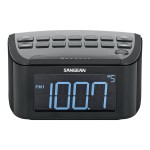 Sangean CR-24 - Clock radio - 1 Watt - black RCR-24
