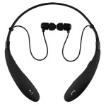 Bluetooth Wireless Headphones and Mic - Black