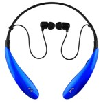 Bluetooth Wireless Headphones and Mic - Blue