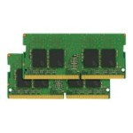 DDR4 - 16 GB: 2 x 8 GB - SO-DIMM 260-pin - 2133 MHz / PC4-17000 - CL15 - 1.2 V - unbuffered - non-ECC