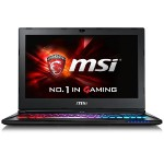 "MSI GS60 Ghost Pro-002 Intel Core i7-6700HQ Quad-Core 2.60GHz Gaming Laptop - 16GB RAM, 128GB SSD + 1TB HDD, 15.6"" Full HD, Gigabit Ethernet, 802.11ac, Bluetooth, Webcam, 6-cell Battery, Aluminum Black GS60 GHOST PRO-002"