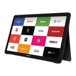 "Samsung Electronics Galaxy View - Tablet - Android 5.1 (Lollipop) - 32 GB - 18.4"" ( 1920 x 1080 ) - microSD slot - black SM-T670NZKAXAR"